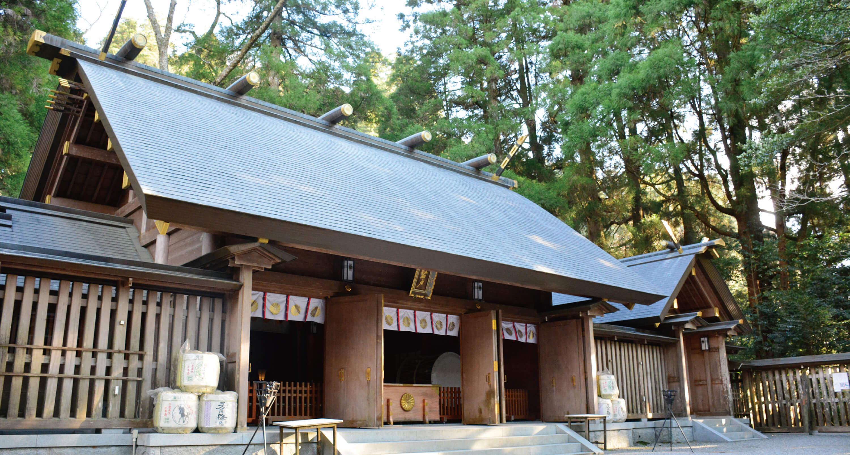 天岩戸神社西本宮 写真