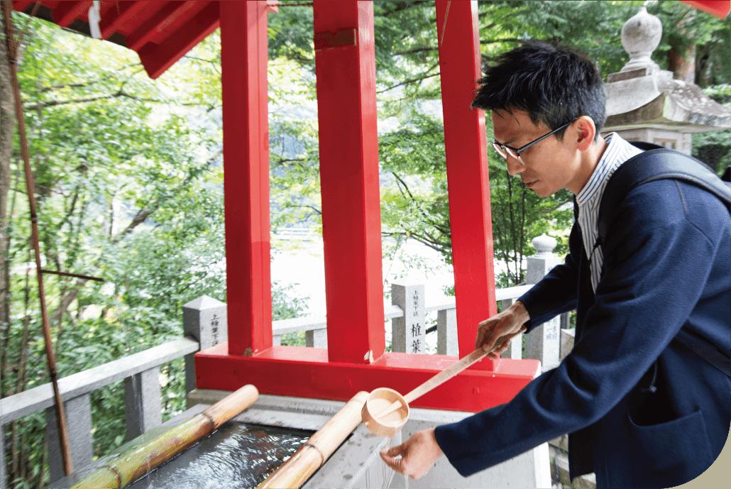 椎葉厳島神社 神石