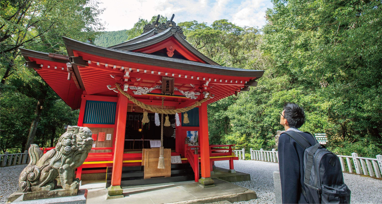 椎葉厳島神社 写真