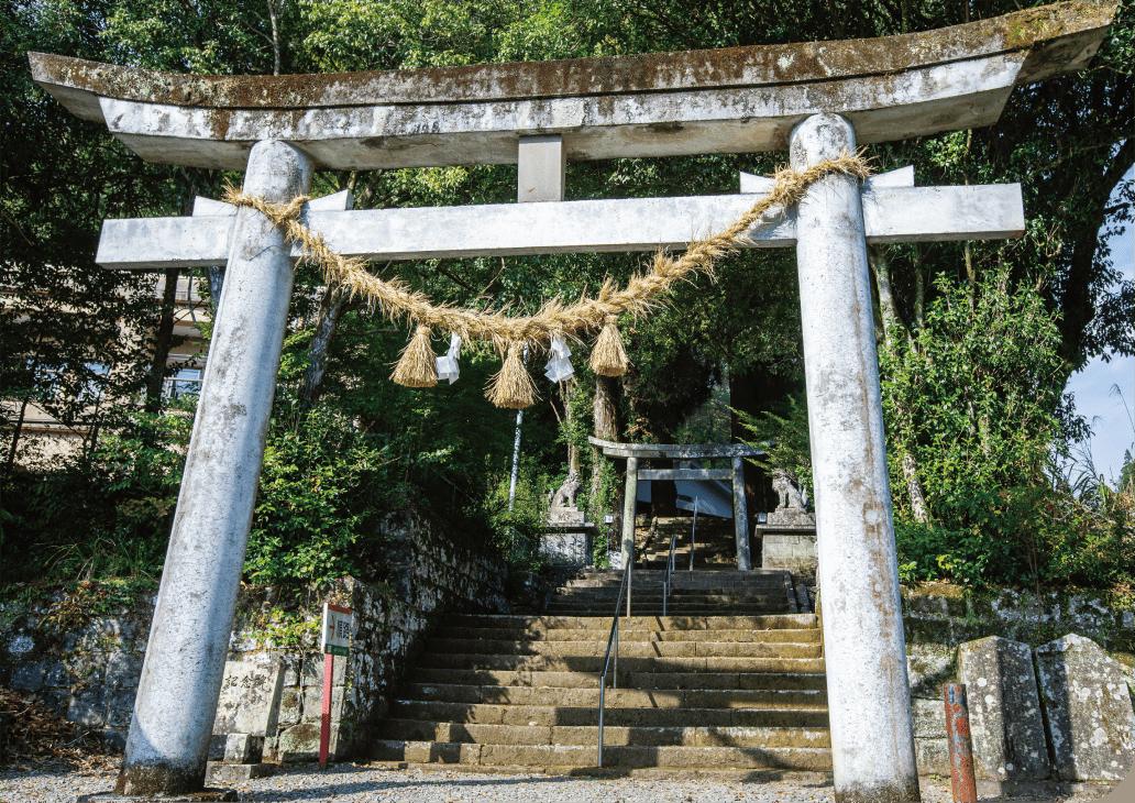 神門神社 鳥居