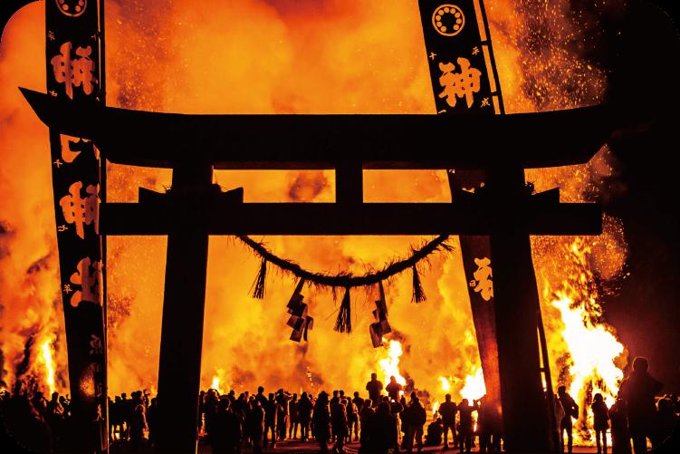 神門神社 師走祭り