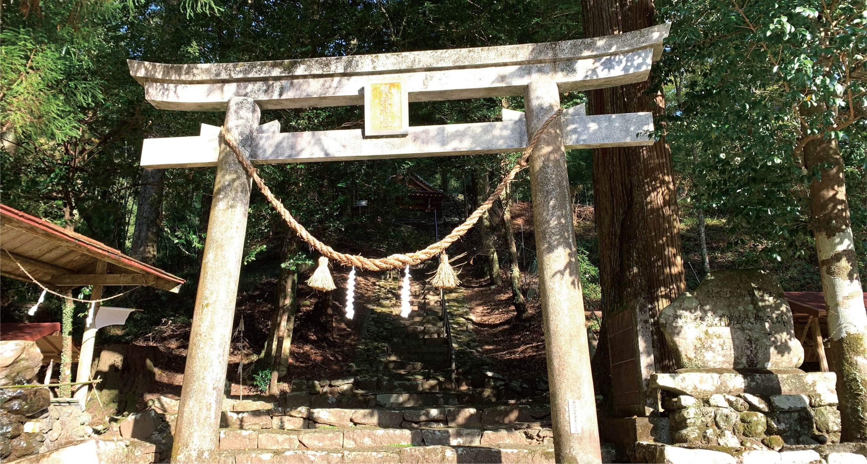 銀鏡神社 写真