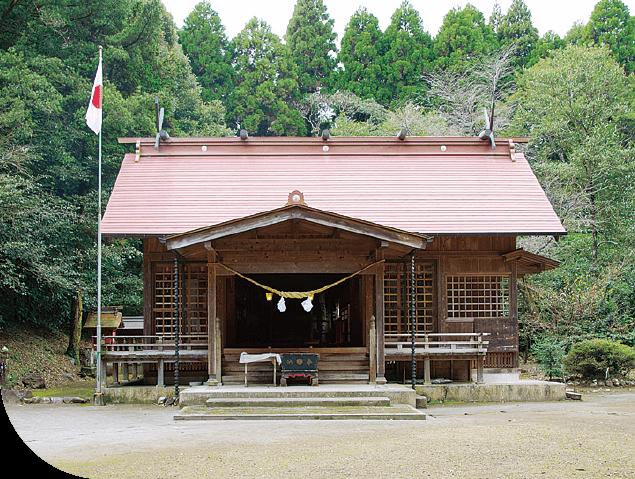霧島岑神社 神石