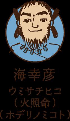 海幸彦 ウミサチヒコ(火照命)(ホデリノミコト)