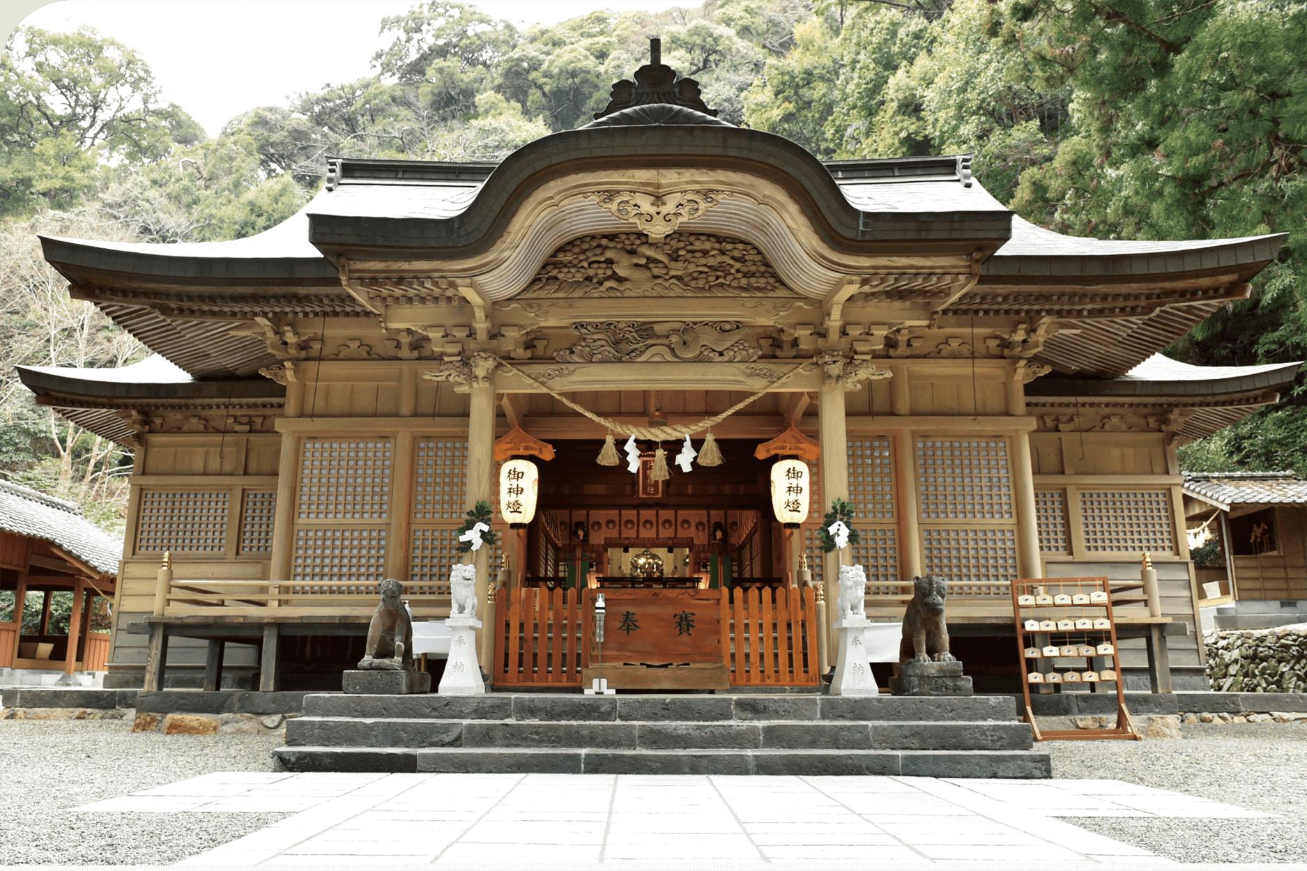 行縢神社 写真